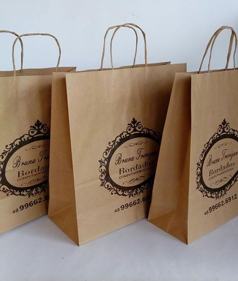 2a03a38d5 sacolas personalizadas papel - Embalagem Ideal