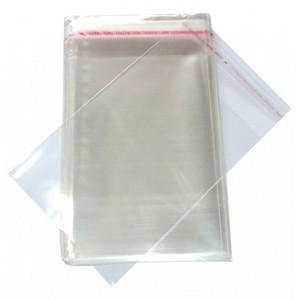saco plástico adesivo