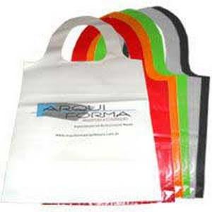 sacolas personalizadas de plástico
