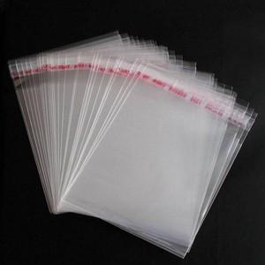 sacos de celofane com adesivo