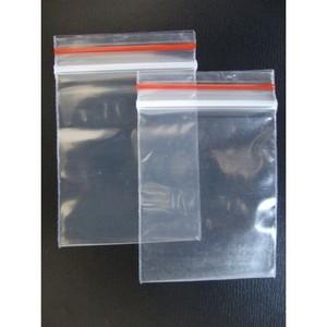 sacos plásticos transparentes com lacre